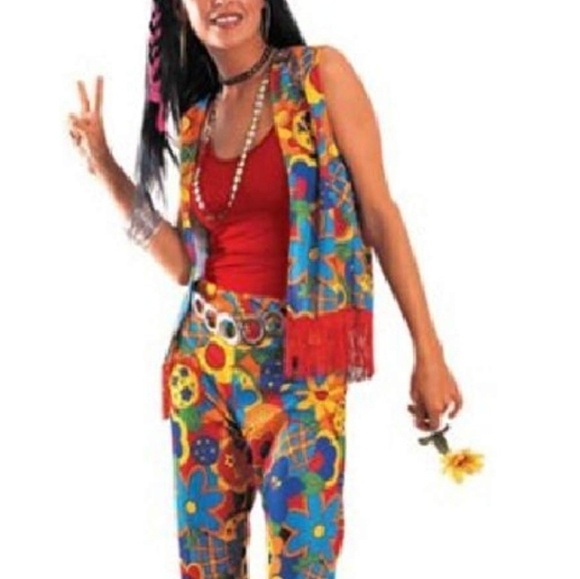 Other - Rubie's Size Medium 8-10 Hippie Women's Costume